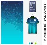 soccer jersey pattern design.... | Shutterstock .eps vector #1929209066