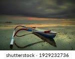 Seascape. Fisherman Boat....