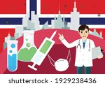 covid 19 vaccine on norway ... | Shutterstock .eps vector #1929238436