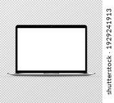 device screen mockup. laptop...   Shutterstock .eps vector #1929241913