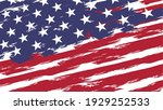 an grungy united states of... | Shutterstock .eps vector #1929252533