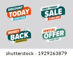 sale discount banner with... | Shutterstock .eps vector #1929263879
