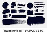 set of paintbrush  brush... | Shutterstock .eps vector #1929278150
