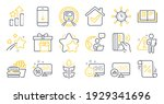 set of business icons  such as...   Shutterstock .eps vector #1929341696