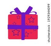gift box vector christmas...   Shutterstock .eps vector #1929344099