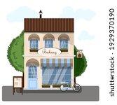 Bakery Exterior Vector...