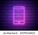 mobile phone  smartphone neon...
