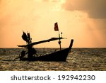 Постер, плакат: Fishing boat in