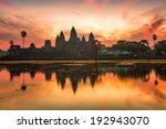 Angkor Wat Sunrise At Siem Reap....