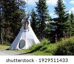 Teepee At Lake Louise Banff...