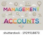 creative  management accounts ...   Shutterstock .eps vector #1929518873