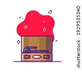 portable gramophone vector...   Shutterstock .eps vector #1929535340