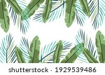 nature flowers and leaves... | Shutterstock .eps vector #1929539486