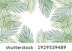 nature flowers and leaves... | Shutterstock .eps vector #1929539489