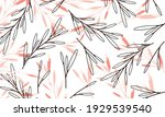 nature flowers and leaves... | Shutterstock .eps vector #1929539540