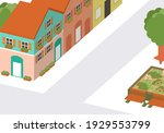 vector illustration of 3d... | Shutterstock .eps vector #1929553799