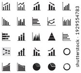 set of business graph icon ...   Shutterstock .eps vector #1929554783
