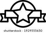 star icon outline for e...   Shutterstock .eps vector #1929555650