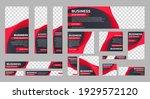 business banner design web... | Shutterstock .eps vector #1929572120