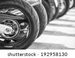 speed bikes in a row | Shutterstock . vector #192958130