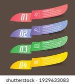 modern text box template ... | Shutterstock .eps vector #1929633083
