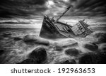 Fishing Boat Beached In Storm...