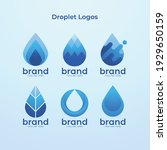 droplet logo's company for your ... | Shutterstock .eps vector #1929650159