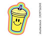 Happy Cocktail Rainbow Trippy...