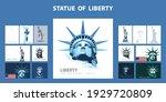 statue of liberty design...   Shutterstock .eps vector #1929720809