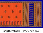 textile patterns printed... | Shutterstock . vector #1929724469