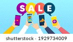 hot offer  special offer and... | Shutterstock .eps vector #1929734009
