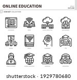 online education and learning... | Shutterstock .eps vector #1929780680