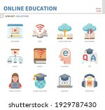 online education and learning... | Shutterstock .eps vector #1929787430