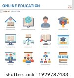 online education and learning... | Shutterstock .eps vector #1929787433