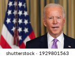 Small photo of America , 20 Feb 2021:American president Joe Biden has shown in this picture ( Selectively focused )(blur)