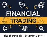 creative  financial trading ... | Shutterstock .eps vector #1929843599