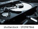 Hard Drive Or Hard Disc On...