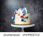 Chocolate Sails Cake With White ...