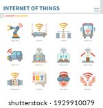 internet of things icon set... | Shutterstock .eps vector #1929910079