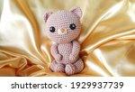 handmade stuffed animal cute... | Shutterstock . vector #1929937739