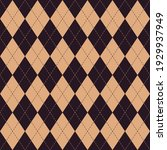 argyle pattern seamless in... | Shutterstock .eps vector #1929937949