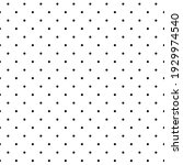 delicate black polka dots on a... | Shutterstock .eps vector #1929974540