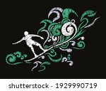 colorful vector illustration of ... | Shutterstock .eps vector #1929990719