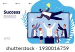 successful team. businessmen... | Shutterstock . vector #1930016759
