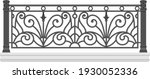 iron railings for the city.... | Shutterstock .eps vector #1930052336