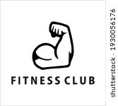 gym and fitness logo template...   Shutterstock .eps vector #1930056176