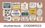 collection of inspirational... | Shutterstock .eps vector #1930089023