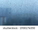 Close Up Of Rain Drops On A...