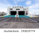 ferry ready to load vehicles...