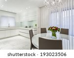 luxury design of  dining room... | Shutterstock . vector #193023506
